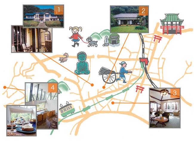 美しい空間を訪ねて歩く 鎌倉