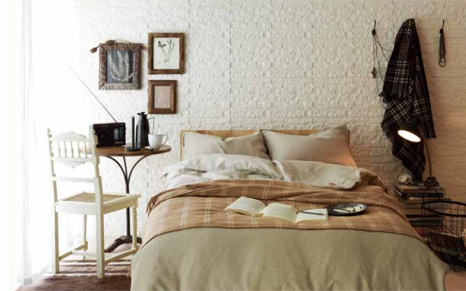 眠りを楽しむインテリア ここちよい、 良質な眠りのために
