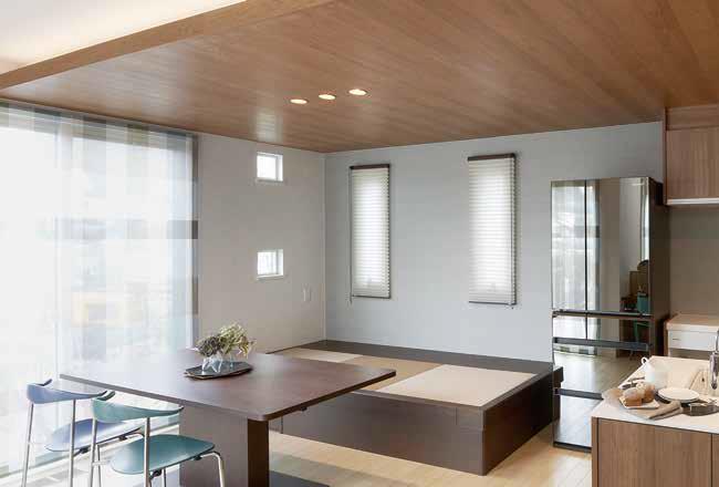 和風収納ボックスで作る、リビング収納とちょっとした畳(タタミ)の空間