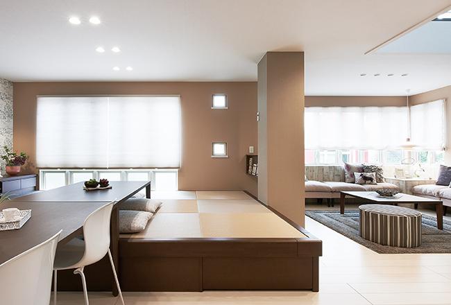 小上がりを活用して創造する収納と快適空間をプラスした暮らし